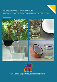 Production of De-Colorized Coconut Oil